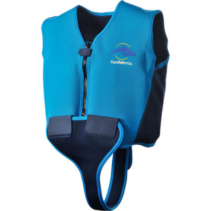 Konfidence Youth Swim Jacket - Blue, Swimwear, for disabled children.