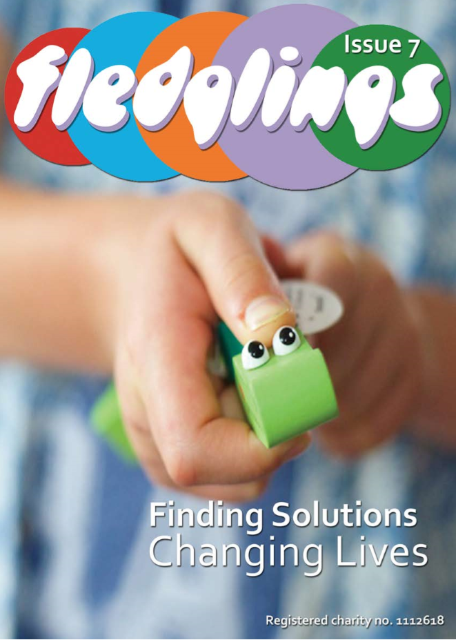 Fledglings brochure, for disabled children.