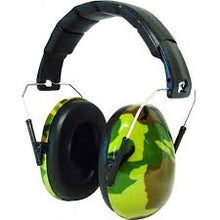 Load image into Gallery viewer, Edz Kidz Caps for Children Ear Defenders - Camo, care & safety, for disabled children.