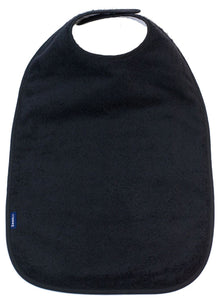 Black Feeding Apron, Protective bib, for disabled children.