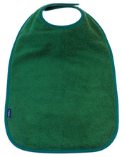 Green Feeding Apron, Protective bib, for disabled children.