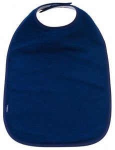 Navy Feeding Apron, Protective bib, for disabled children.