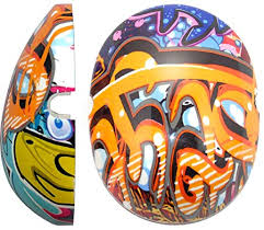 Graffiti Caps for Children Ear Defenders, care & safety, for disabled children.