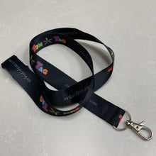 Load image into Gallery viewer, Tomtag Black Lanyard, Learning Resource, for disabled children.