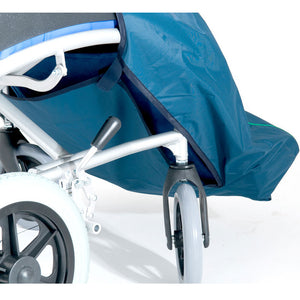 Waterproof Wheelchair Leg Cover - Royal Blue and White Stars, wheelchair clothing, for disabled children.