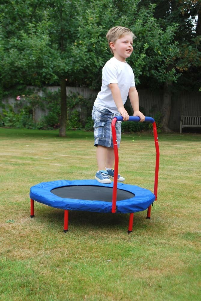 Mini Trampoline, toys and learning, for disabled Children