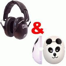 Load image into Gallery viewer, Panda Caps for Children Ear Defenders, care & safety, for disabled children.