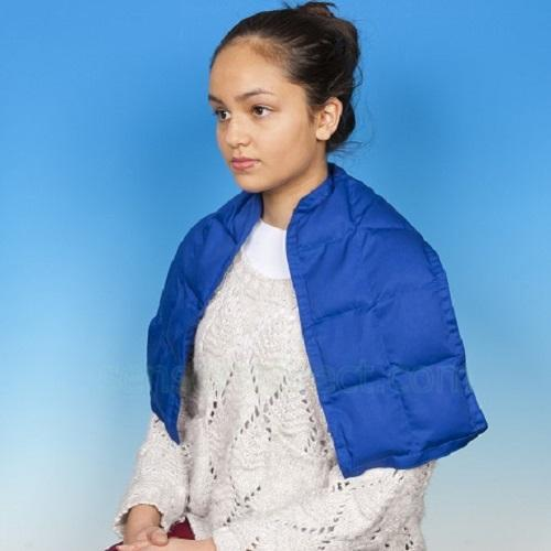 Weighted Shoulder Wrap, sensory integration, for disabled children.