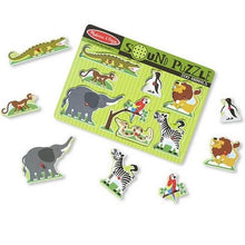 Zoo Sound Puzzles, motor and cognitive skills, for disabled children.