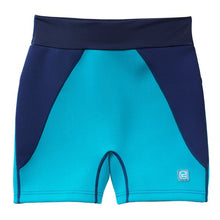 Load image into Gallery viewer, Splash Mens Incontinence Jammers Swim Shorts - Navy/Jade, Swimwear, for disabled children.