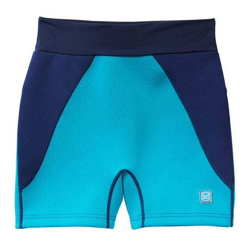 Splash Mens Incontinence Jammers Swim Shorts - Navy/Jade, Swimwear, for disabled children.