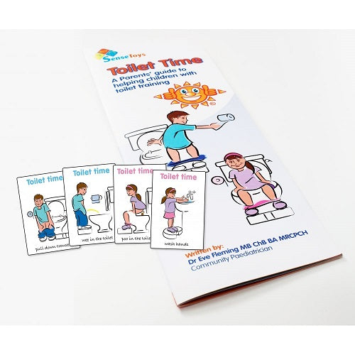 Toilet Time Picture Cards, continence, for disabled children.