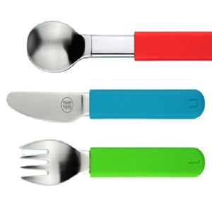 Tum Tum Weighted Cutlery Set, eating, for disabled children.