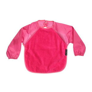 Cerise pink Full Upper Body Wonder Bib, Protective bib, for disabled children.
