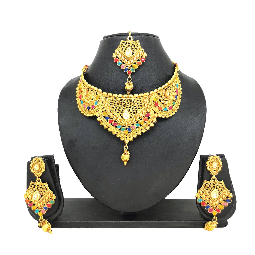 Multi-colored Jewelry Set - HVIJS0018