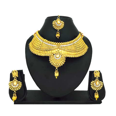 Alloy Gold Jewelry Set - HVIJS0035