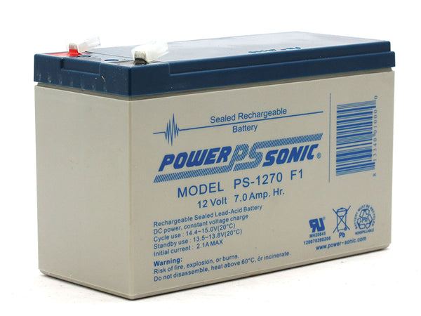 APC RBC2F1 - 12V / 7.0Ah S.L.A. Powersonic UPS Replacement Battery | bbmbattery.com