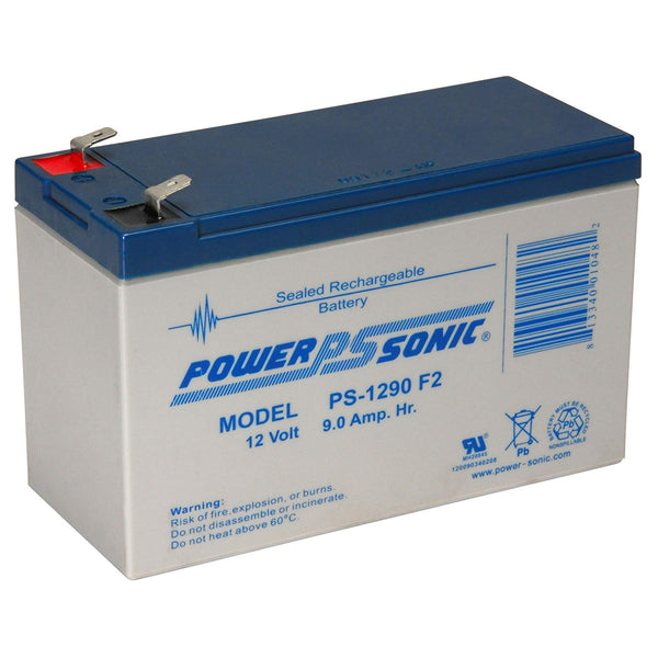 APC RBC17 - 12V / 9.0Ah S.L.A. Powersonic UPS Replacement Battery | bbmbattery.com