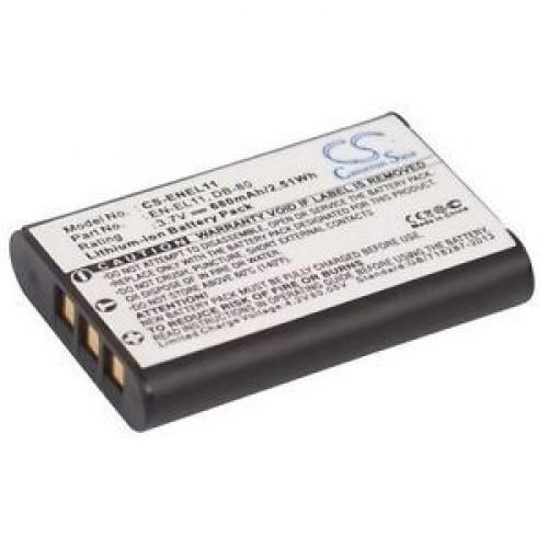 3.7v / 680 mah Battery Replacement for ENEL11 | bbmbattery.com