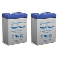 APC RBC1 - 2 x 6V / 4.5Ah S.L.A. Powersonic UPS Replacement Batteries | bbmbattery.com