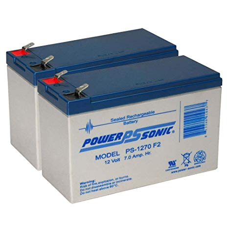 APC RBC113 - 2 x 12V / 7.0Ah S.L.A. Powersonic UPS Replacement Batteries