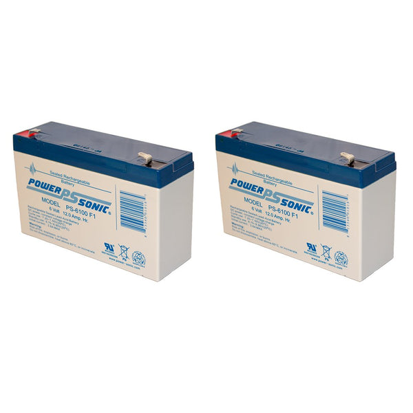 APC RBC3 - 2 x 6V / 12.0Ah S.L.A. Powersonic UPS Replacement Batteries | bbmbattery.com