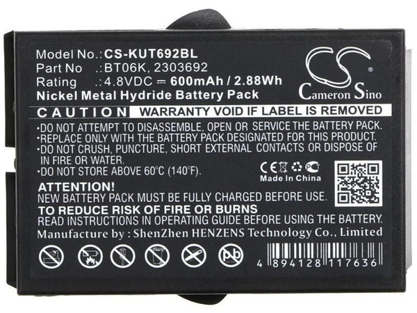 Ikusi BT06K Battery for T70, TM70, RAD-TF, RAD-TS, ATEX Transmitters