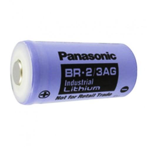 Panasonic BR-2/3AG Cylindrical Lithium Batteries - High Capacity 2/3A