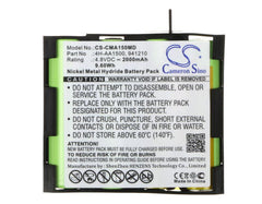 Compex Energy Mi-Ready Battery Replacement