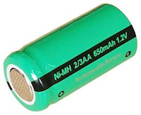 2/3AA NiMH Battery - 1.2V/650mAh