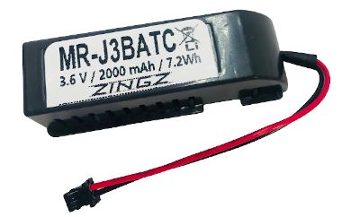 Mitsubishi MR-J3BAT-C Replacement battery with case