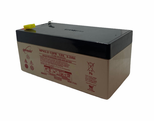 EnerSys Genesis NPH3.2-12 Battery with Flame Retardant Case