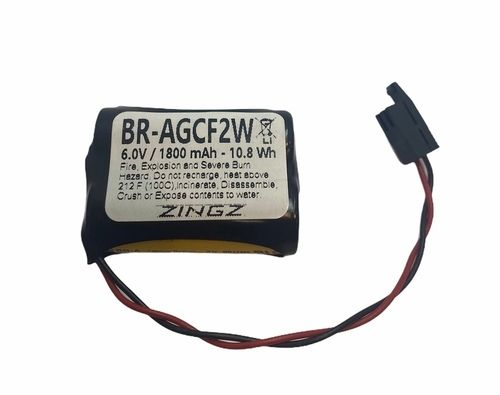 GE Fanuc A06B-6093-K001 Battery - 6.0V Lithium PLC Replacement