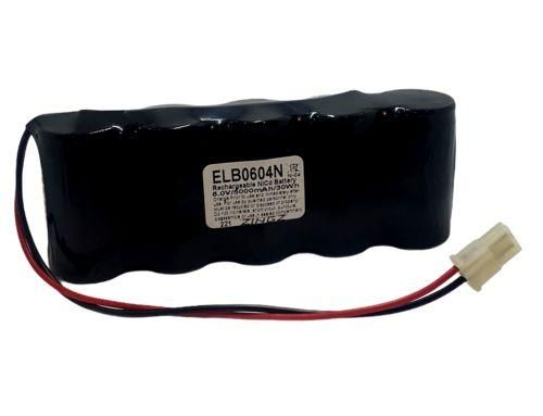 Panasonic GL5000DF5L - Replacement Emergency Lighting Battery 6V/5000mAh