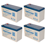 Tripp Lite RBC94-2U - 4 x 12V / 7.0Ah S.L.A. Powersonic UPS Replacement Batteries