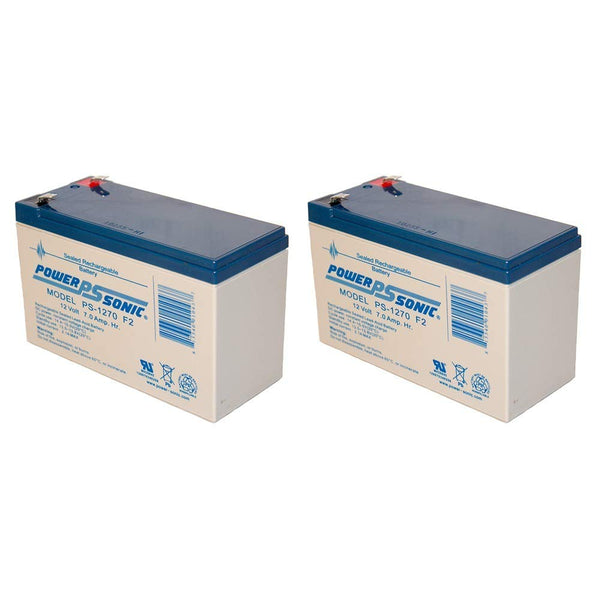 2 x 12V / 7.0Ah UPS Replacement Batteries for Alpha Tech ALI Elite 1000T (017-747-110) | bbmbattery.com