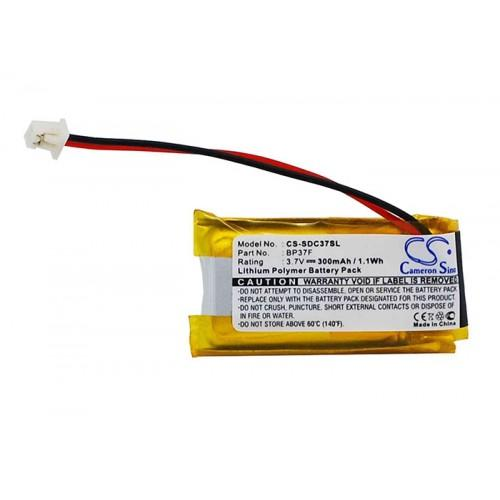 Dogtra BP-37F Dog collar battery replacement - CS-SDC37SL | bbmbattery.com