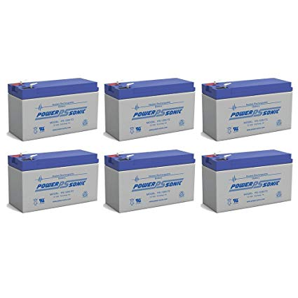 6 x 12V / 9.0Ah UPS Replacement Batteries for ABLEREX MP3000 | bbmbattery.com