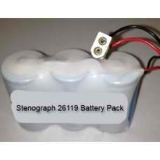 26119, 25939, 332024 Stenograph Battery