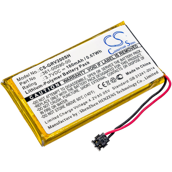 CS-GRV200SH Battery  for Garmin 361-00090-00, Vivoactive HR | bbmbattery.com