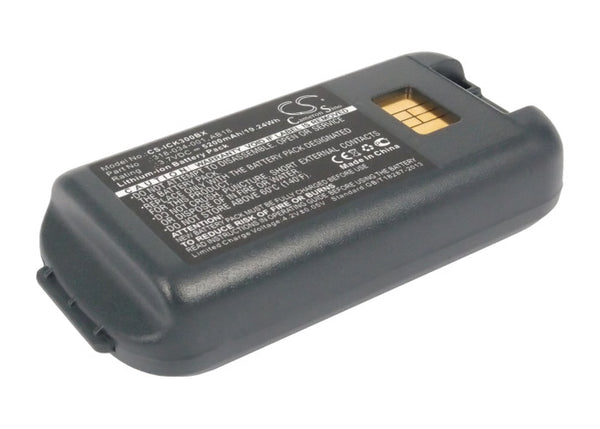 Upgraded Battery for Intermec CK3, CK3A, CK3X, CK3R, CK3N1, CK3C - 3.7V/5200mAh | bbmbattery.com