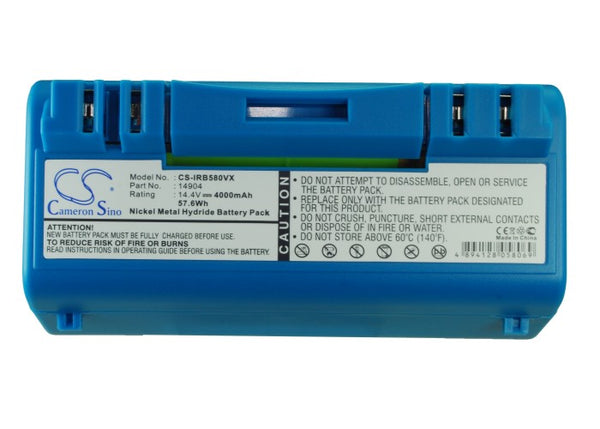 IRobot Scooba 14904 Battery Replacement for Scooba