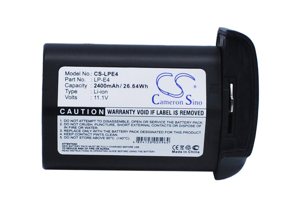 Canon LP-E4 Battery for EOS-1D, 540EX, 550EX Cameras