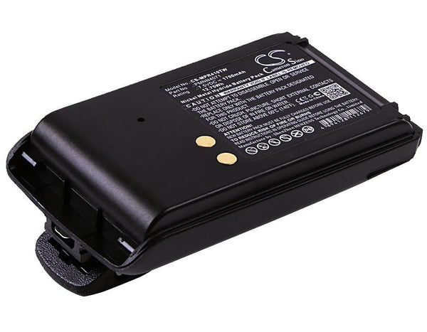 Motorola PMNN4071 Battery Replacement for BPR40 Radio