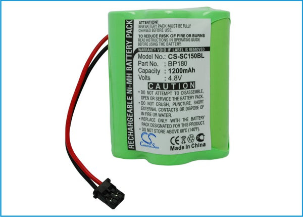 Uniden Bearcat BC120, BC220, BC230 Battery for UHF Scanner