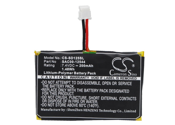 Sportdog SAC00-12544 Battery Replacement for SD-1225 Receiver