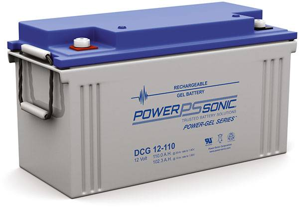 DCG12-110 Powersonic 12V Deep Cycle Battery | bbmbattery