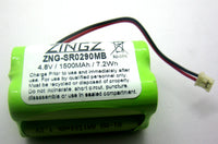 Summer Infant HK1100AAE4BMJS, 02100A-10 Baby Monitor Replacement Battery for 02090, 0210A, 02720