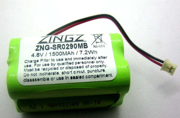 Summer Baby HK1100AAE4BMJS - 4.8V Extended Replacement Battery | bbmbattery.com