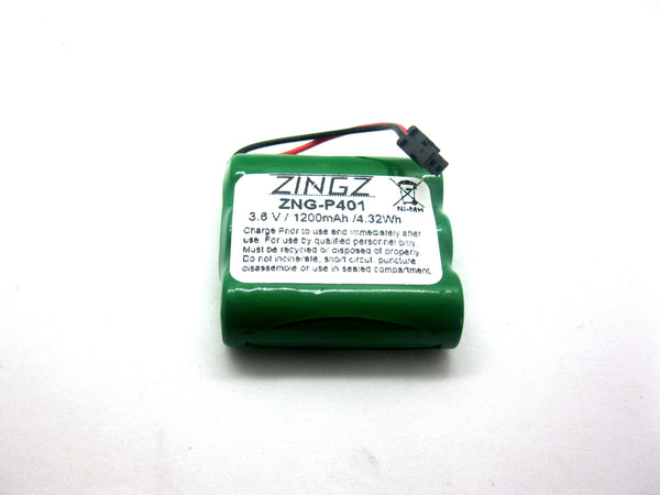 Uniden YBT3N600MAH, Sanyo, Radio Shack-GESPCM02 replacement battery for cordless phone